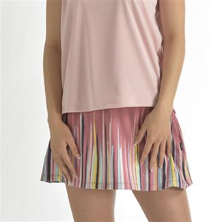 スカート 吸汗速乾、UPF50+、制電(FDピンメッシュ素材)(WF1301)